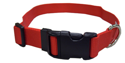 "1"" 18-26 RED Nyl Collar"