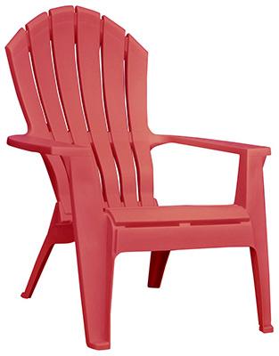 RED Adirondack Chair - Woods Hardware