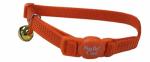 "COASTAL PET PRODUCTS, INC. 07001 A SSO12 Safecat, 3/8"" x 12"", Adjustable Breakaway, Sunset Orange, Cat Collar.<br>Made"