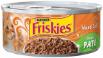 AMERICAN DISTRIBUTION & MFG CO 42154 Friskies, 5.5 Oz, Classic Patee Mixed Grill Cat Food, Complete