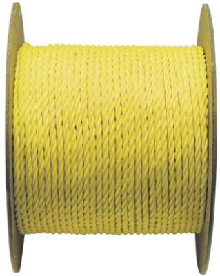 "1/4""x1200YEL Poly Rope"