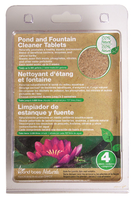 4PK Pond Cleaner Tablet