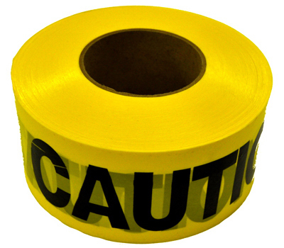 1000 YEL Caution Tape