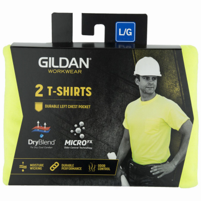 2PK 2XL GRN Tee Shirt
