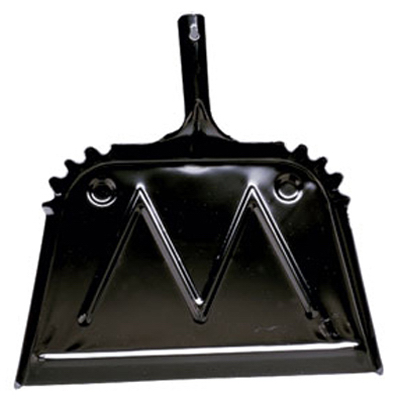 "16"" BLK MTL Dust Pan"