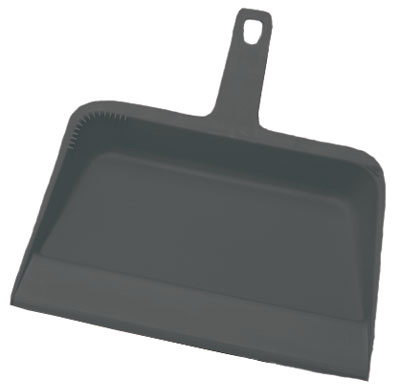 "12"" Plas HD Dust Pan"