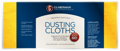 12PK Cotton Dust Cloth