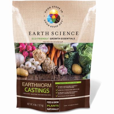 4LB Earthworm Castings