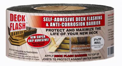 3x75 Deck Flash Barrier