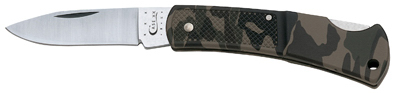 Camo Lockback Knife