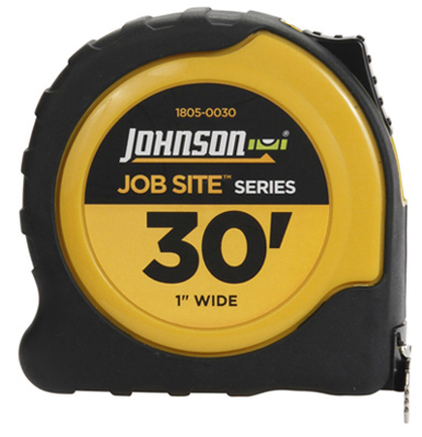 1x30 Job Tape Measure