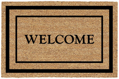 18x30 Welcome Mat - Woods Hardware