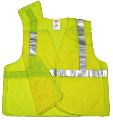 4XL/5XL GRN Safe Vest