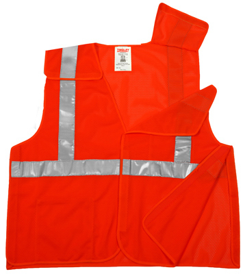 2XL/3XL ORG Safe Vest