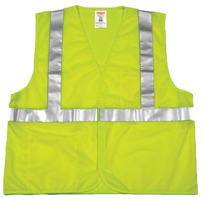 2XL/3XL GRN Safe Vest