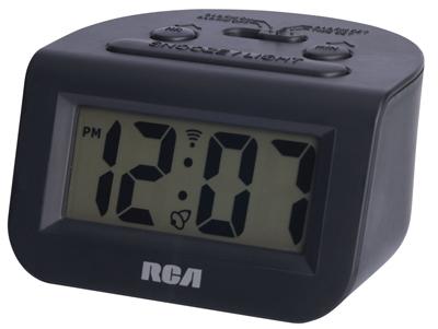 RCA BLK Alarm Clock