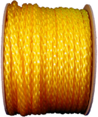"1/2""x250%27 YEL Poly Rope"