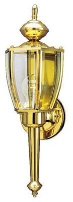 1LGT PB Wall Lantern