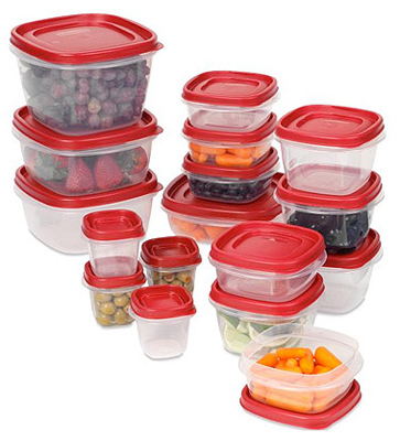 34PC Easy Find Lid Set