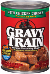 JM SMUCKER RETAIL SALES 00079100524587 Gravy Train, 13.2 OZ, chicken Chunks In Gravy, Dog Food