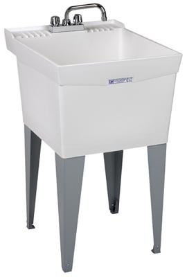 20x24WHT Combo Laun Tub