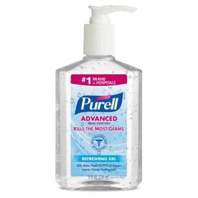 8OZ Ori Hand Sanitizer