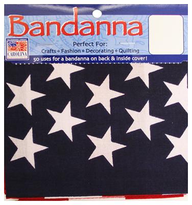 "22"" Amer Flag Bandanna"