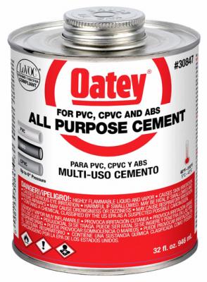 32OZ CLR AP Solv Cement