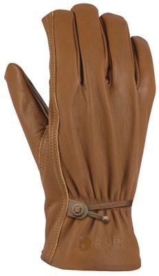 MED BRN LTHR Driv Glove