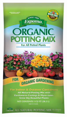 16QT Organic Pot Mix