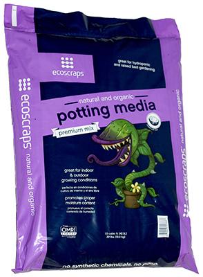 1.5CUFT Pott Media Mix