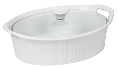 2.5QT Oval Dish/Cover