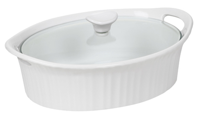 2.5QT Oval Dish/Cover - Woods Hardware