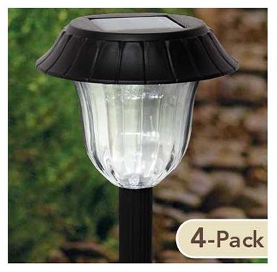 FS 4PK Solar Path Light - Woods Hardware