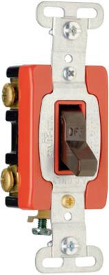 20A BRN GRND DP Switch