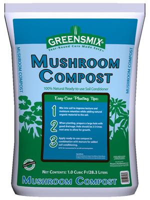 CUFT Mushroom Compost
