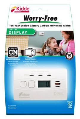 10YR DGTL CO Alarm - Woods Hardware