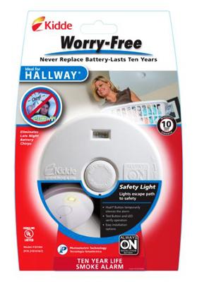 10YR HallWY Smoke Alarm - Woods Hardware