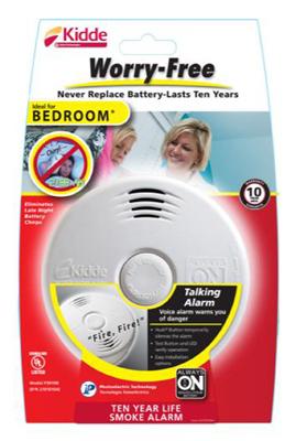 10YR Bedr Smoke Alarm - Woods Hardware