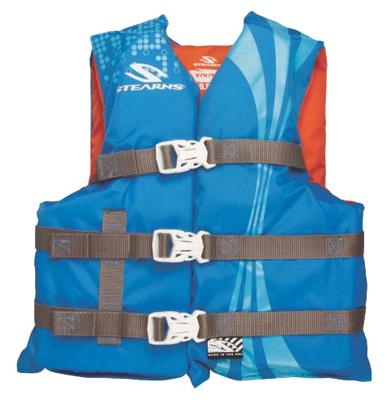 Youth BLU/ORG Vest