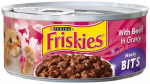 AMERICAN DISTRIBUTION & MFG CO 42314 Friskies, 5.5OZ, Sliced Beef With Gravy, Cat Food, Can.<br>Made in: