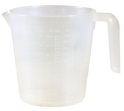 Plas Measuring Cup - Woods Hardware