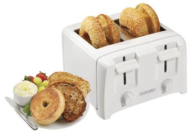 4 Slice WHT Toaster