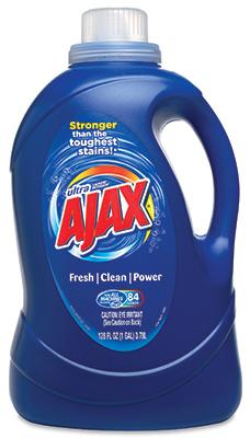 128OZ AjaxLIQ Detergent