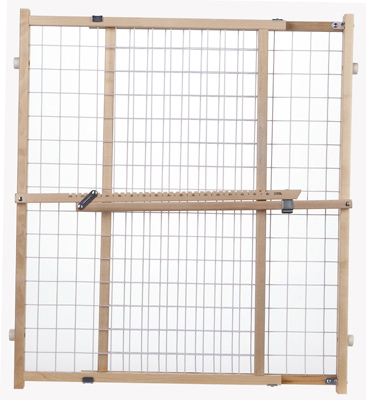 Expand Wire Mesh Gate