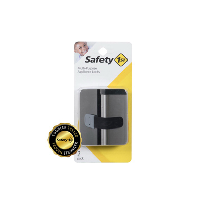2PK BLK Appliance Lock