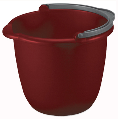 14QT RED Spout Pail