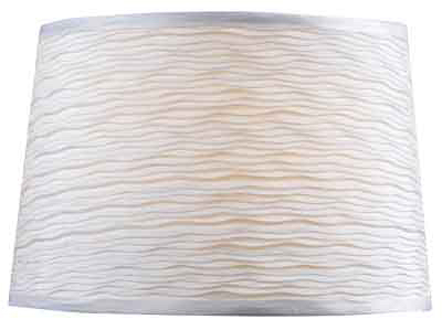 "11""WHT Taper Lamp Shade"