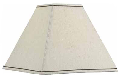 "5.5""Taupe SQ Lamp Shade"
