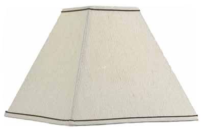 """5.5""""Taupe SQ Lamp Shade"""